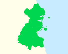 A map of county Dublin