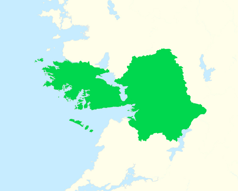 A map of county Armagh
