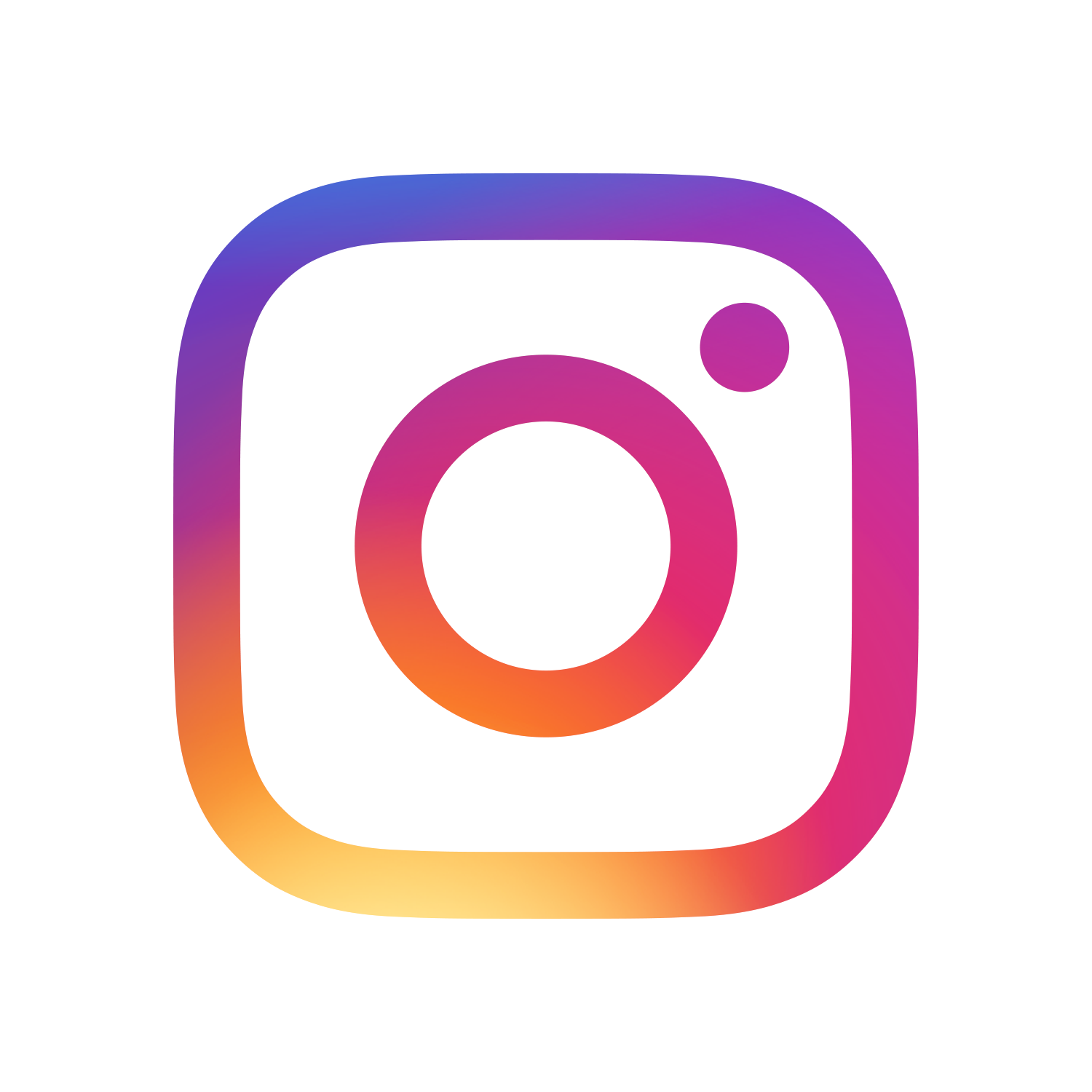 the Instagram glyph