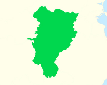 A map of county Kildare