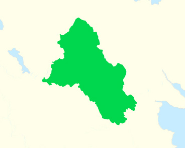 A map of county Monaghan